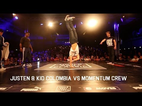 World BBoy Classic 2014 | Momentum Crew vs Kid Colombia & Justen