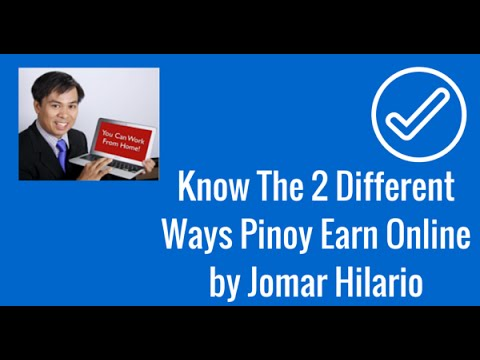 2 Different Ways Pinoys Earn Online Webinar Video-Jomar Hilario .m4v