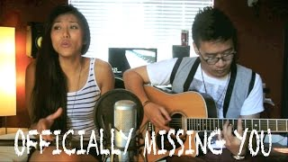 Tamia - Officially Missing You (Live Acoustic Cover by Olivia Thai & Kris Mark)