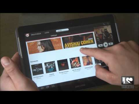Test tablette Samsung Galaxy tab 2 10.1 - Applications Samsung (Samsung HUB, Touchwizz)