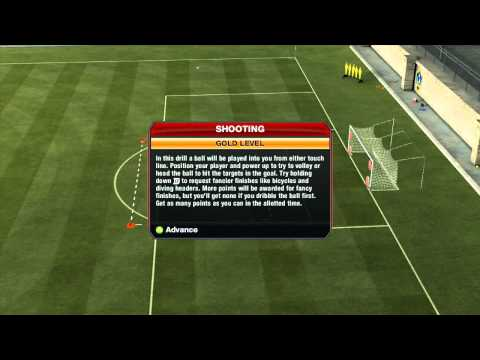 FIFA 13 - SKILL GAMES - Shooting (1/8)