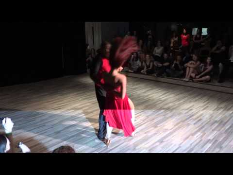 Kadu & Larissa - zouk performance - Prague Samba & Zouk Congress 2011