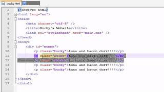 HTML5 Tutorial - 6 - Introduction to pseudo-classes