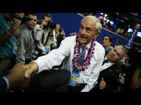 Raw Video: Rep. Ron Paul on RNC floor