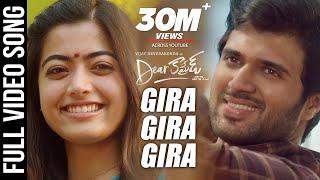 Dear Comrade Telugu - Gira Gira Video Song  Vijay Deverakonda  Rashmika  Bharat Kamma