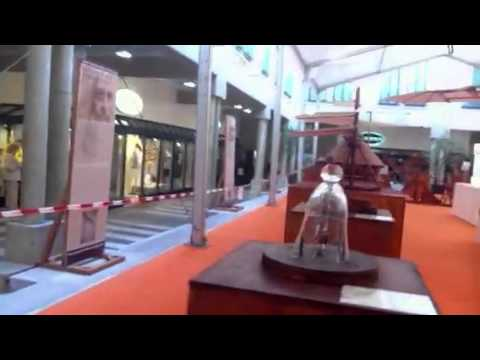 Mostra Leonardo da Vinci centro Maghetti Lugano CH