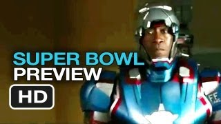 Iron Man 3 Official Super Bowl Preview (2013) - Robert Downey Jr. Movie HD
