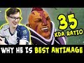 35 KDA ratio — reason MIRACLE is BEST Anti-Mage in Dota