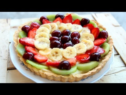 Nonna's Italian Fruit Tart Recipe - Laura Vitale - Laura in the Kitchen Episode 647