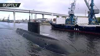 Новейшая подлодка «Петропавловск-Камчатский» вышла на заводские испытания (17.08.2019 16:35)