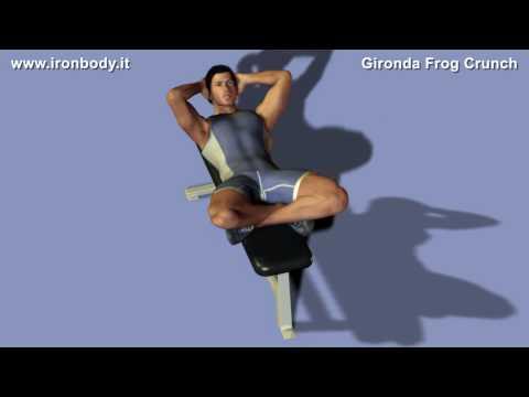 Vince Gironda Frog Crunch