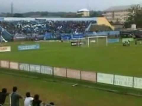 Aksi Panser Biru dan Brigata Curva Sud @Stadion Jatidiri Semarang