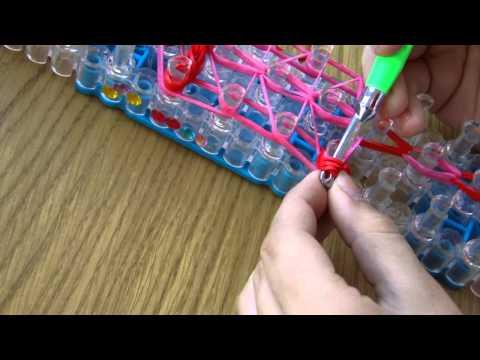 Плетение резиночками на ручки