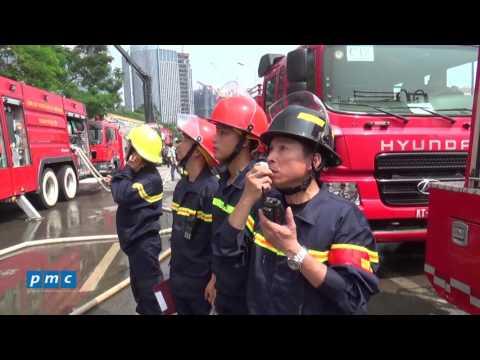 Keangnam Palace Landmark  [Bản tin số 8] – Diễn tập PCCC và cứu nạn cứu hộ