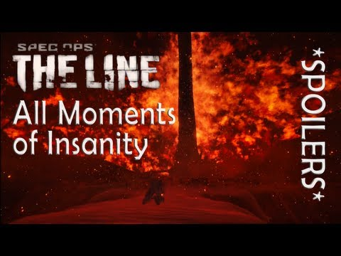 "*SPOILERS* All Insanity moments in ""SPEC OPS: THE LINE"" (+Survival Ending)"