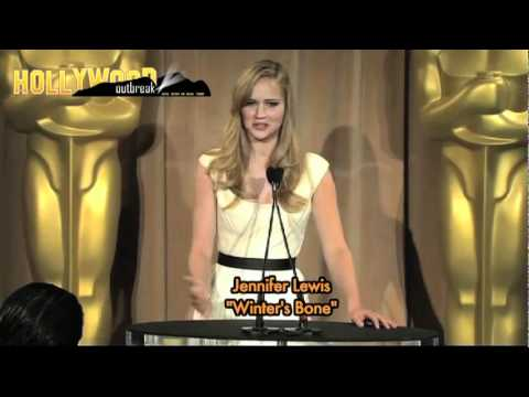 JENNIFER LAWRENCE - AN OSCAR NOM AND STILL HAVING TO PROVE HERSELF