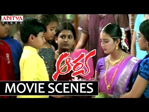 Allu Arjun Beautiful Action In Climax - Aarya Movie