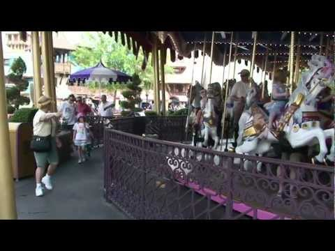 Prince Charming Regal Carrousel ride-through at Disney's Magic Kingdom