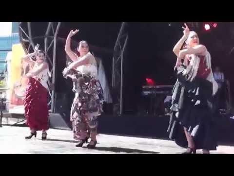 Darling Harbour Fiesta 2012 Sydney HD - (Pt 7) Sangre Gitana Flamenco Dance