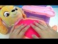Фрагмент с начала видео - SKYE From PAW PATROL Eats a McDonald's Happy Meal | Toys Unlimited