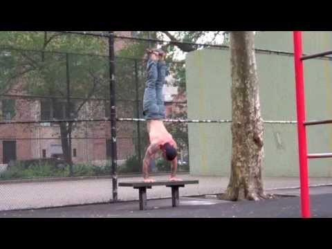 Handstand Push-ups -0xLdTFHiDiQ