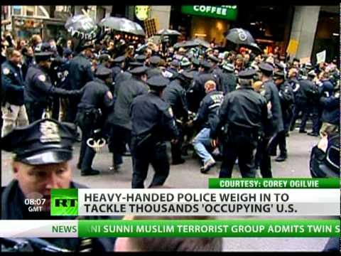 Occupation Nation: US cops serve & protect the 1%