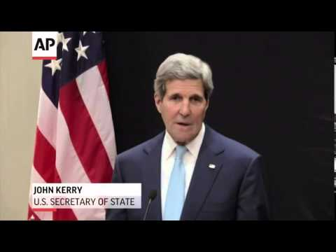 (Jhon  Kerry) Urges Against Funding Sunni Fighters  6/22/14