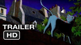 A Cat in Paris Movie Official Trailer (2012) HD Movie
