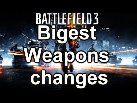 Battlefield 3 Online Gameplay - New Patch WEAPONS Fixes Changes