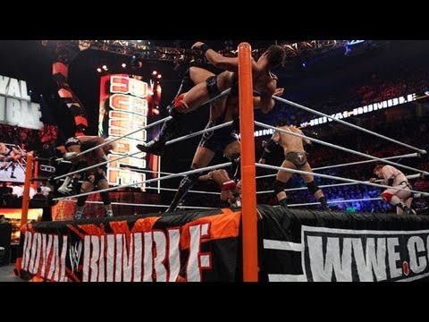 Dolph Ziggler to last entire WWE Royal Rumble 2013   Enters Number 1