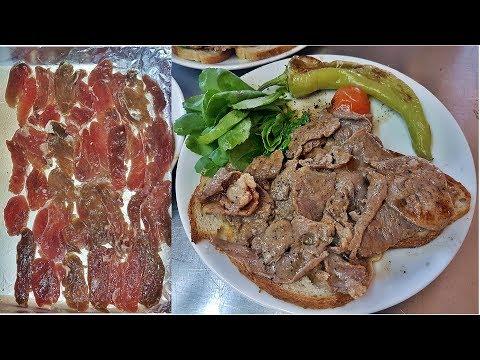 Turkish Lamb  Doner Kebap Meat Homemade Baking Recipe