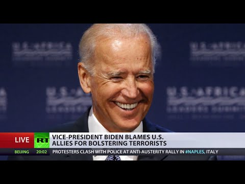 Anyone but US! Biden blames allies for (ISIS) rise  10/3/14