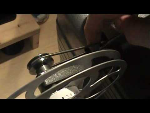 8mm Film Projector in action