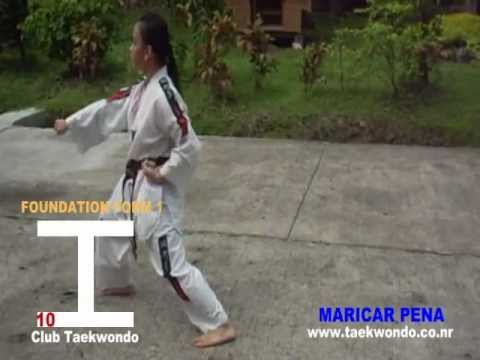 Foundation Form 1 - Club Taekwondo - Poomsae