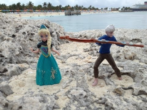 FROZEN Disney Princess Queen Elsa Gets Trapped on The Ocean Floor With Jack Frost a Frozen Parody アナ