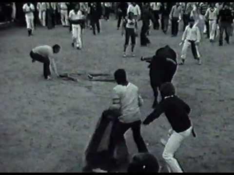 12-7-1976 Encierro de San Fermín - Ganadería Manuel Arranz