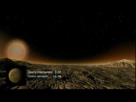 Le meraviglie del Sistema Solare: Mercurio