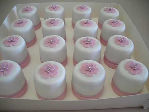 Wedding Fondant Mini Cakes