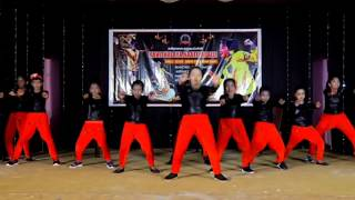 Free style dance by our girls