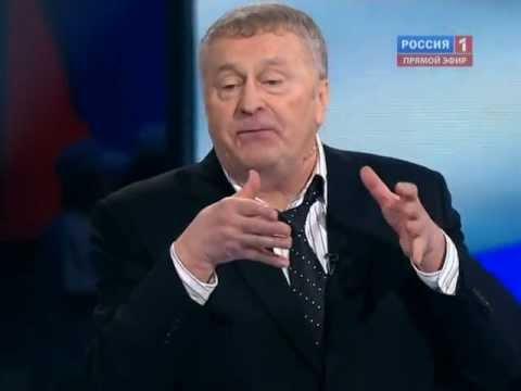 Выборы 2012. Дебаты. Жириновский - Прохоров 28 февраля
