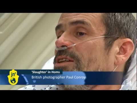 Journalist Describes Siege of Homs in Syria: British Photographer Paul Conroy Escapes Syrian Army