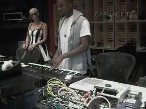 Kanye West working on MY BEAUTIFUL DARK TWISTED FANTASY [2010]