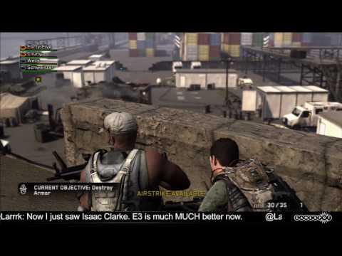 E3 2010 Stage Demo: SOCOM 4: U.S. Navy SEALs