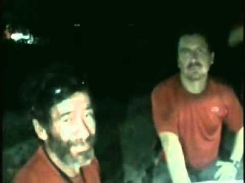 Imágenes de los mineros atrapados en la mina San José 1/09/2010 parte 1