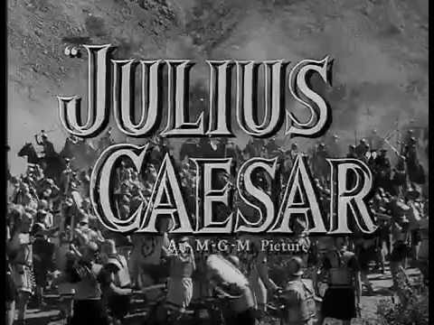 Julius Caesar (1953) - Theatrical Trailer -15n1T7AqJZ0