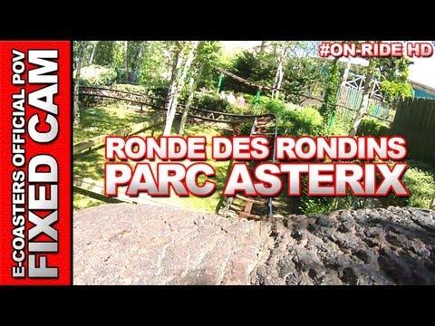 La Ronde des Rondins - OnRide - Parc Asterix (ECAM HD)