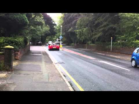 Ferrari F430 Spyder Flat Out Acceleration Awesome Exhaust Sound 0 - 60 Hitting Rev Limiter V8 Spider