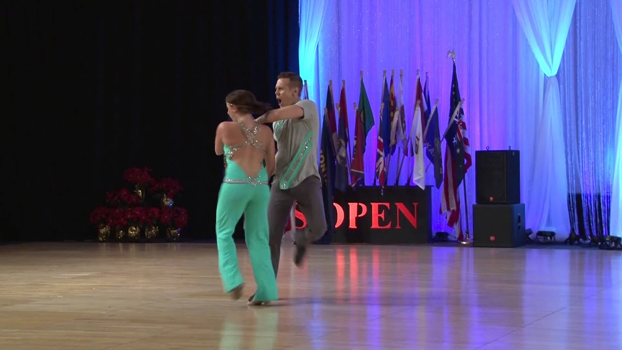 2013 SHOWCASE Champions  - Benji Schwimmer and Torri Smith - US Open Swing Dance Championships