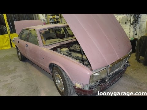Jaguar XJ40 Restoration