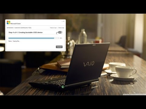 Como Instalar Windows 8 en una Netbook | Memoria USB